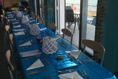 UEA bikers table setting