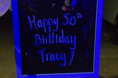 Surprise party sign