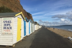 Beach Huts on Small Hope Beach