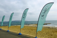 The Salix Beach Flags